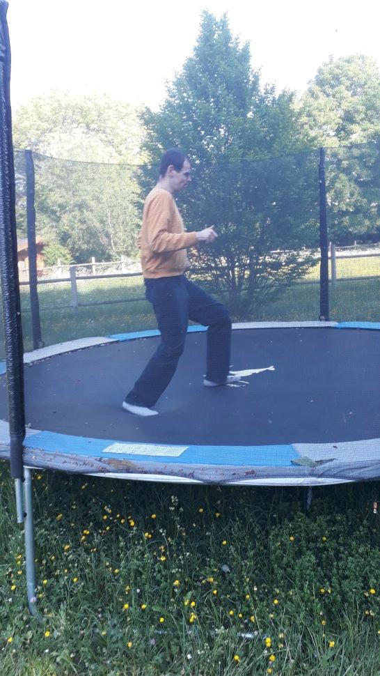 francois trampoline
